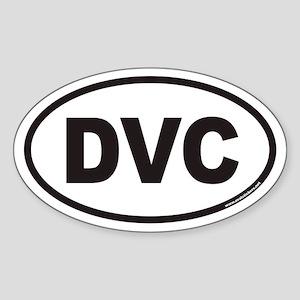 DVC Euro Oval Sticker