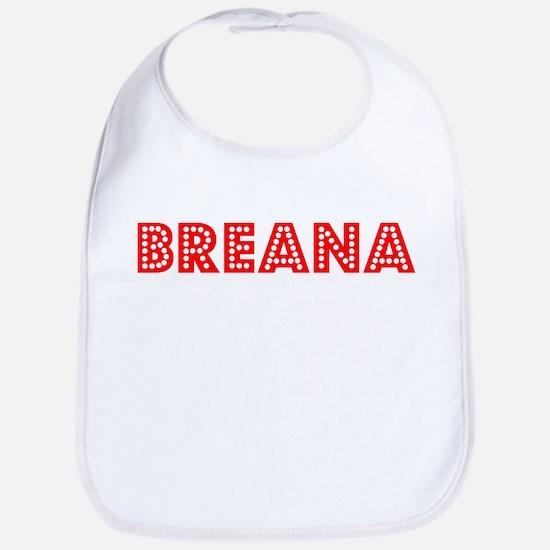 Retro Breana (Red) Bib