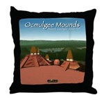 Ocmulgee Mounds Throw Pillow