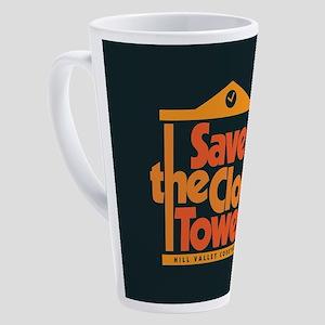 Save the Clock Tower 17 oz Latte Mug