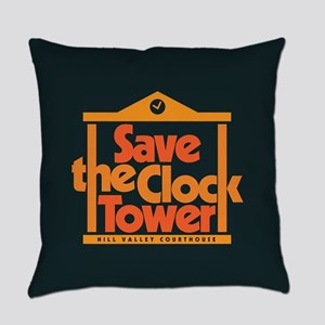 Save the Clock Tower Everyday Pillow