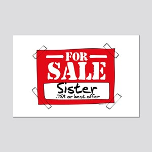 Sister For Sale Mini Poster Print