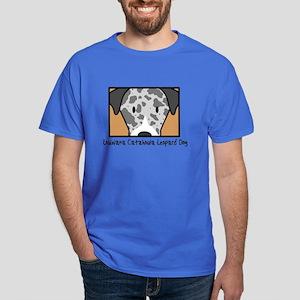 Anime Catahoula Leopard Dog Dark T-Shirt