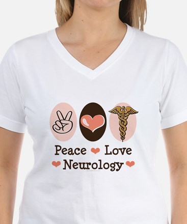 Peace Love Neurology Shirt