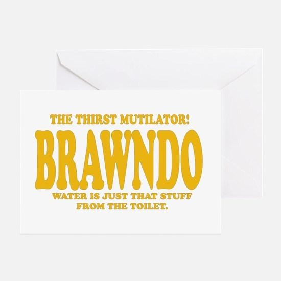 Brawndo Greeting Card