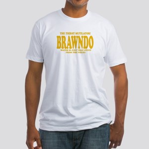 Brawndo Fitted T-Shirt