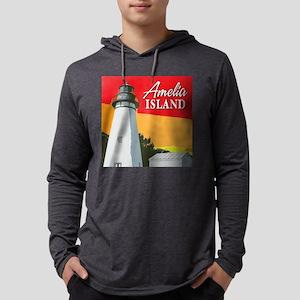 Amelia Island Lighthouse Long Sleeve T-Shirt