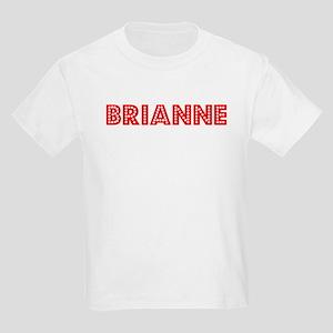 Retro Brianne (Red) Kids Light T-Shirt
