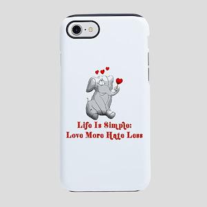 Sweet Love Elephant iPhone 8/7 Tough Case