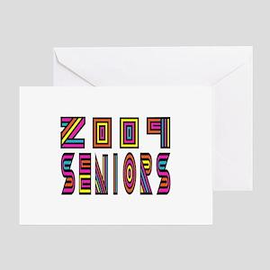 future 09 brights Greeting Card
