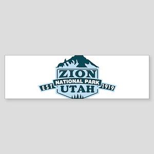 Zion - Utah Bumper Sticker