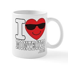 I Love Montecito Mugs
