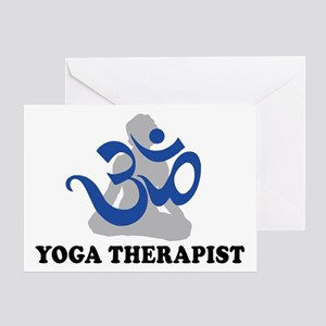 Yoga Therapist Greeting Card