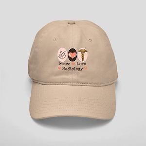 Peace Love Radiology Cap