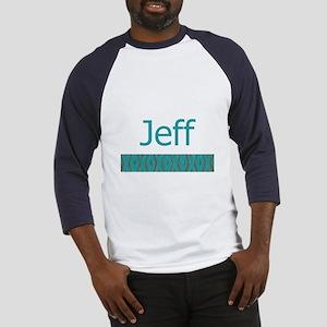 Jeff - Baseball Jersey