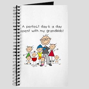 Grandpa Stick Figure Journal