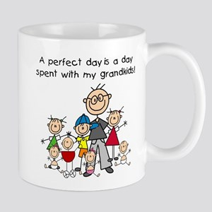 Grandpa Stick Figure Mug