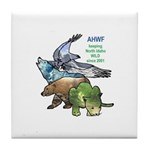 American Heritage Wildlife Foundation Tile Coaster