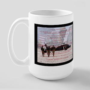 Soldier's Creed Large Mug