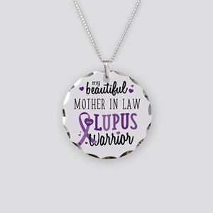 Mother in law Lupus Necklace Circle Charm