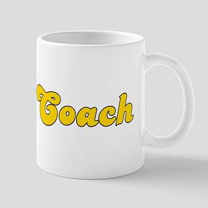 Retro Chess Coach (Gold) Mug