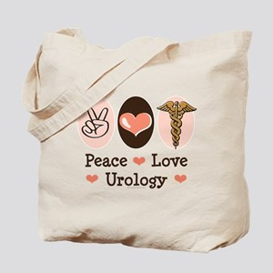 Peace Love Urology Tote Bag