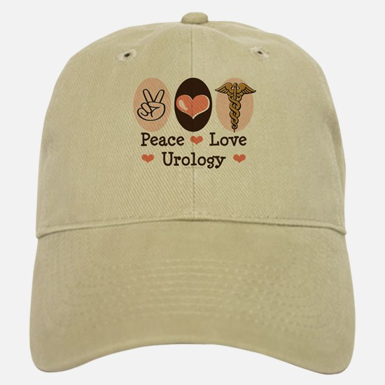Peace Love Urology Baseball Baseball Cap