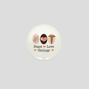 Peace Love Urology Mini Button