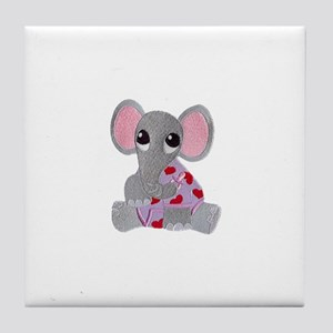 Baby Elephant Pjs Tile Coaster