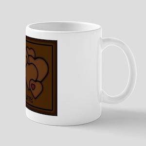 Chocolate Love Hearts Mug