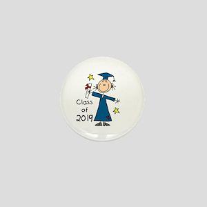 Stick Girl Grad 2016 Mini Button