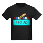 Ballot Fed Up Kids Dark T-Shirt