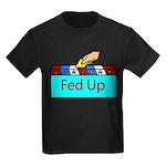 Ballot Fed Up Kids Dark T-Shirt