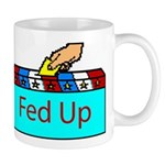 Ballot Fed Up Mug