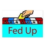 Ballot Fed Up Postcards (Package of 8)