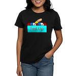 Ballot Fed Up Women's Dark T-Shirt
