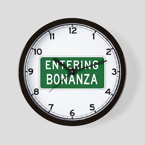 Bonanza, OR (USA) Wall Clock