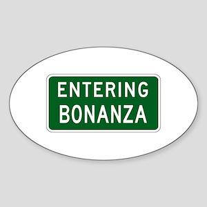 Bonanza, OR (USA) Oval Sticker
