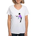 Your ass, my dear Women's V-Neck T-Shirt