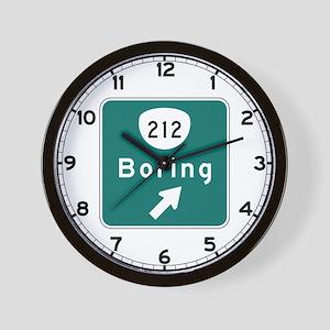 Boring, OR (USA) Wall Clock