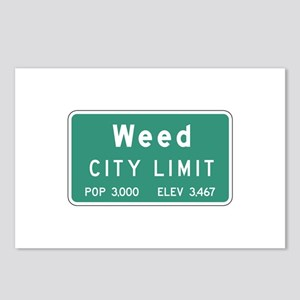 Weed, CA (USA) Postcards (Package of 8)