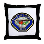Tustin Police Throw Pillow