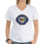 Tustin Police Women's V-Neck T-Shirt
