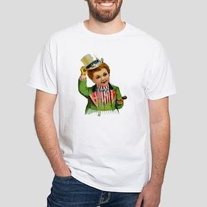 Patriotic Boy White T-Shirt
