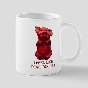 The Red Pig Mug