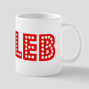 Retro Caleb (Red) Mug