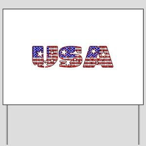 USA Yard Sign