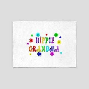 Hippie Grandma 5'x7'Area Rug