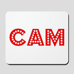 Retro Cam (Red) Mousepad