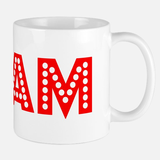 Retro Cam (Red) Mug